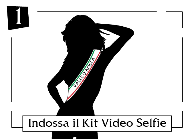 kit video selfie - valle d'aosta